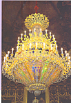 Click here to enlarge image and see more about item cs3813: Neogothic lamp in the Royal Chamber, Palacio Real