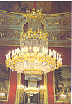 Click here to enlarge image and see more about item cs3815: French Chandelier in the Royal Parlour Palacio Real Madrid Spain cs3815