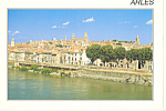Click here to enlarge image and see more about item cs3826: Arles, France Le Vile et le Rhone