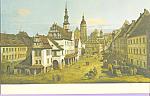 Click here to enlarge image and see more about item cs3860: Market Place in Pirna on the Elbe Saxony Bernardo Bello cs3860