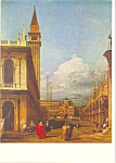 Click here to enlarge image and see more about item cs3866: Venice The Piazzetta towards the Torre dell Orologio cs3866