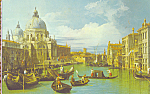 View of Venice Entrance to the Grand Canal Postcard cs3876
