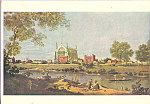 Eton College Antonio Canale called Canaletto Postcard cs3885