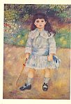 Child with a Whip Pierre Auguste Renoir Postcard cs3893