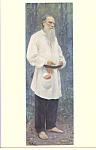 Portrait of Tolstoy , Ilya Efimovich Repin