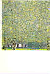 Click here to enlarge image and see more about item cs3925: The Park Gustav Klimt Postcard cs3925
