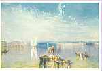 Venice The Campo Santo J M W Turner Postcard cs3931