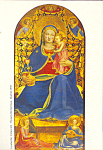 Click here to enlarge image and see more about item cs3951:  Fra Angelico La Verge de la Humilitat Postcard cs3951