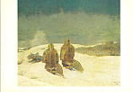 Below Zero Winslow Homer Postcard cs3971