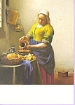 The Kitchen Maid, Johannes Vermeer