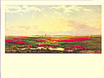 Across the Marshes Frederick DeBourg Richards Postcard cs3979
