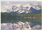 Click here to enlarge image and see more about item cs4044: Herbert Lake, Banff National Park, Alberta