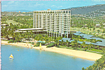 Click here to enlarge image and see more about item cs4055: Kahala Hilton, Honolulu, Hawaii Postcard cs4055