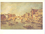 View on the Cannaregio,Venice, Francesco Guardi