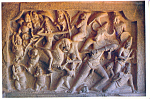 Click here to enlarge image and see more about item cs4094: Goddess Durga Mahabalipuram India cs4094
