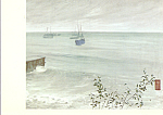 The Ocean James Whistler Postcard cs4103