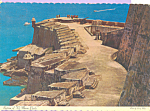 Click here to enlarge image and see more about item cs4106a: San Juan Harbor Puerto Rico cs4106a
