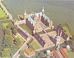Click here to enlarge image and see more about item cs4114: Frederiksborg Castle Denmark Postcard cs4114