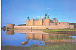 Click here to enlarge image and see more about item cs4116: Kalmar Castle Sweden Postcard cs4116