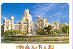 Click here to enlarge image and see more about item cs4124: La Cibeles,Madrid Spain