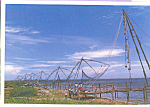 Click here to enlarge image and see more about item cs4132: Fishing Nets Cochin Kerala China cs4132