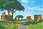 Click here to enlarge image and see more about item cs4176: Appia Antica Street Rome Italy cs4176