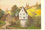 Click here to enlarge image and see more about item cs4179: Castle of the Toppler Germany L. Mossler Postcard cs4179