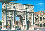 Click here to enlarge image and see more about item cs4189: Arch Of Constantine Rome Italy cs4189
