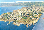 Click here to enlarge image and see more about item cs4297: Aerial View of  Beirut Lebanon cs4297