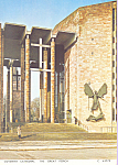 Click here to enlarge image and see more about item cs4322: Coventry Cathedral, The Great Porch