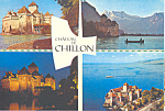 Click here to enlarge image and see more about item cs4358: Chateau de Chillon   Switzerland cs4358