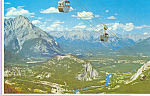 Click here to enlarge image and see more about item cs4366: Banff Townsite and The Bow Valley