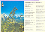 Click here to enlarge image and see more about item cs4368: Sulphur Mountain Gondola Lift,Banff Alberta Canada cs4368