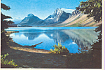 Click here to enlarge image and see more about item cs4381: Bow Lake, Banff National Park, Alberta,Canada