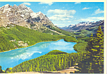 Click here to enlarge image and see more about item cs4383: Mt Temple, Banff National Park, Alberta,Canada