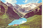 Click here to enlarge image and see more about item cs4386: Lake Louise, Banff National Park, Alberta,Canada