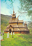 Norway Borgund Stave Church Sogn cs4410