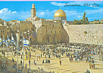 Click here to enlarge image and see more about item cs4449: Jerusalem The Western Wall Israel cs4449