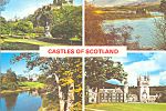 Click here to enlarge image and see more about item cs4458: Castles of Scotland Postcard cs4458
