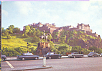 Edinburgh Castle Scotland Postcard cs4480