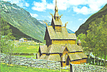 Click here to enlarge image and see more about item cs4494: Borgund,Norway, Stave Church