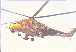 Click here to enlarge image and see more about item cs4524: Helicopter Painted as an Eagle in Flight cs4524