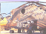 Click here to enlarge image and see more about item cs4526: Helicopter Painted as an Eagle Closeup