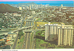 Click here to enlarge image and see more about item cs4548: Modern Freeways Oahu Hawaii cs4548