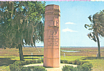 Ribaut Monument Paris Island South Carolina cs4566