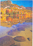 Autumn Scene Across A Lake Postcard cs4570