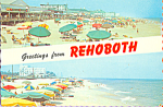 Click here to enlarge image and see more about item cs4595: Beach Scene Rehoboth Delaware