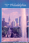 Click here to enlarge image and see more about item cs4612: Benjamin Franklin Parkway, Philadelphia, Pennsylvania