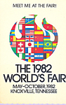 1982 World's Fair Knoxville, Tennessee