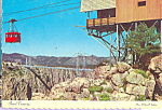 Click here to enlarge image and see more about item cs4711: Aerial Tramway Royal Gorge Colorado cs4711